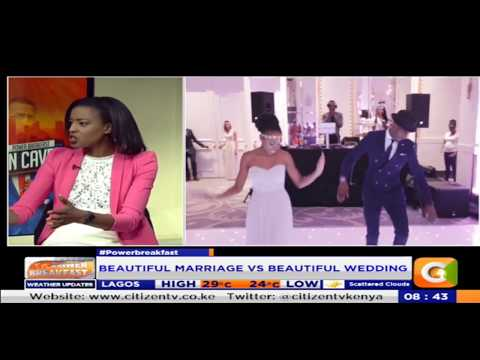 Power Breakfast:Cave man:Beautiful wedding vs Beautiful marriage