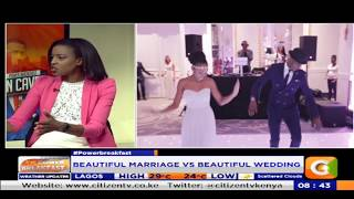 Power Breakfast:Cave man:Beautiful wedding vs Beautiful marriage