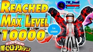 REACHED MAX LEVEL 10000 | Boku No Roblox Remastered