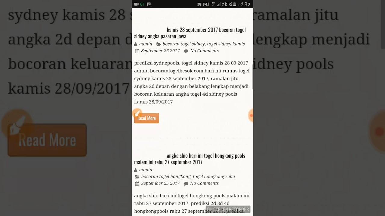 Prediksi Main Togel Hk Rabu 26 September 2018 togel t