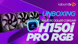 Watercooler RGB - Corsair H150i PRO RGB #Unboxing #KabumTV thumbnail