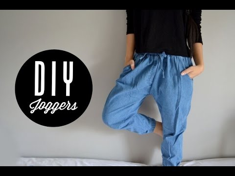 how to make joggers shrink
