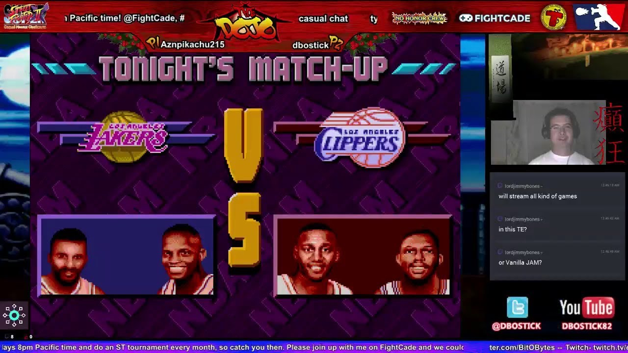 Смотреть Fightcade 2 (BETA) - NBA Jam Tournament Edition