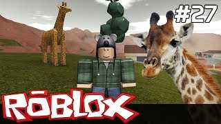 Roblox in Polish [#27] we build ZOO/z Paweł