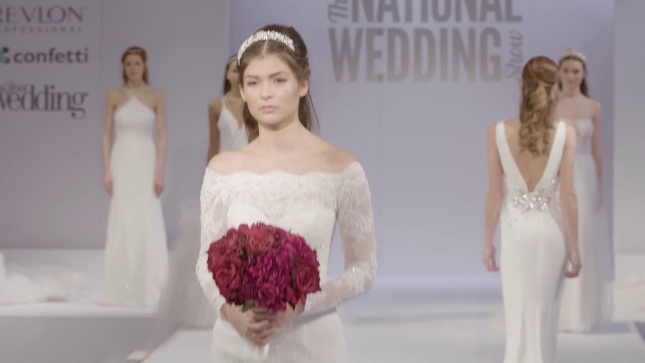 Bridal catwalk - National Wedding Show 2018 - YouTube