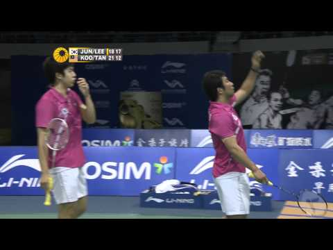 2011 World Superseries Finals-MD-Group B-Jae Sung Jung_Yong Dae Lee vs. Kien Keat Koo_Boon Heong Tan