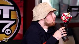 Mac Miller reveals who he's sleeping with on The Angie Martinez Show