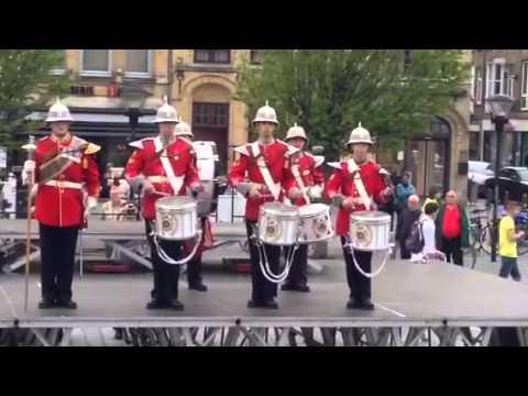 PPCLI Drum Line Friezenberg