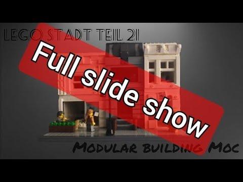 lego modular building Moc full slide show