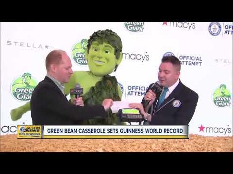 Kevin & Liz - World Record Green Bean Casserole