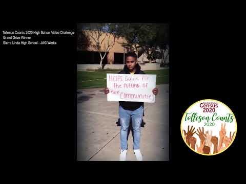 Tolleson Counts 2020 Video Challenge  - Grand Prize  Winner Sierra Linda High School