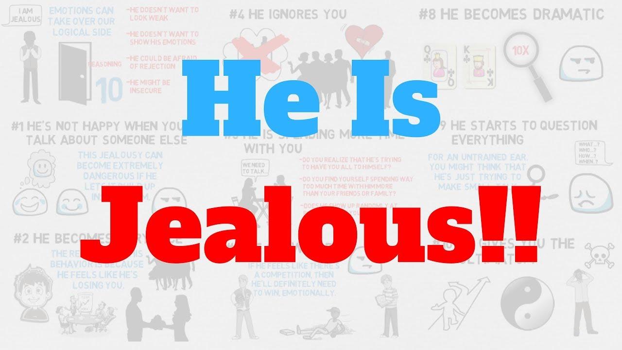 10 Signs He Is Jealous But Hiding It | True Medallion