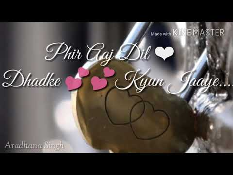 💕💕Tu Hi Hai Aashiqui Female Lyrics💏|| WhatsApp Status Video 💕💕