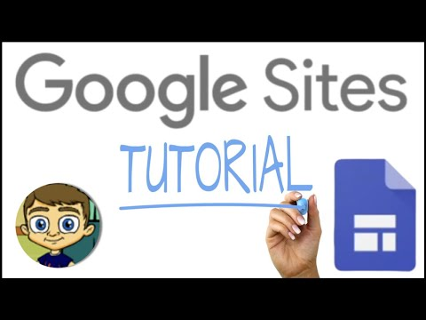 The NEW Google Sites - 2016 Tutorial