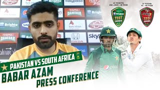 Babar Azam Interacts With Media Ahead Of First Test | PCB | MA2T