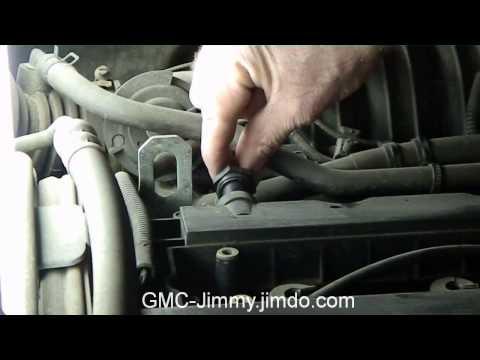 Замена клапана вентиляции картера двигателя F16D3 PCV Removal&installation
