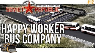 A busy bus company : Workers and Resources Soviet Republic #12 thumbnail