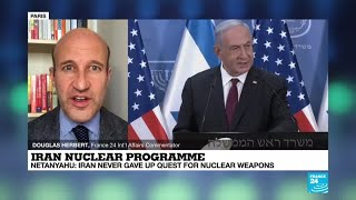 Iran nuclear programme: Israel's Netanyahu says Tehran never gave up quest for nuclear weapons