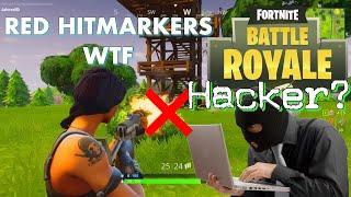 Tant de Red Hitmarkers WTF Fortnite (fr) Hacker avec Dieu Mod? Epic Fix Yo jeu!