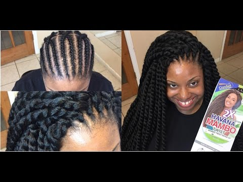 Crochet Box Braids Amazon : 37. HAVANA MAMBO TWIST - YouTube