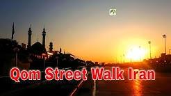 Traveling Iran Qom City Streets Walk Middle East