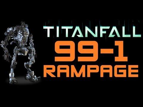 Titanfall - 99-1 Attrition Stryder Titan Rampage (Titanfall Stryder Titan Gameplay Tips and Tricks)