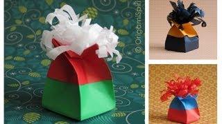 Origami Twist Box Tutorial