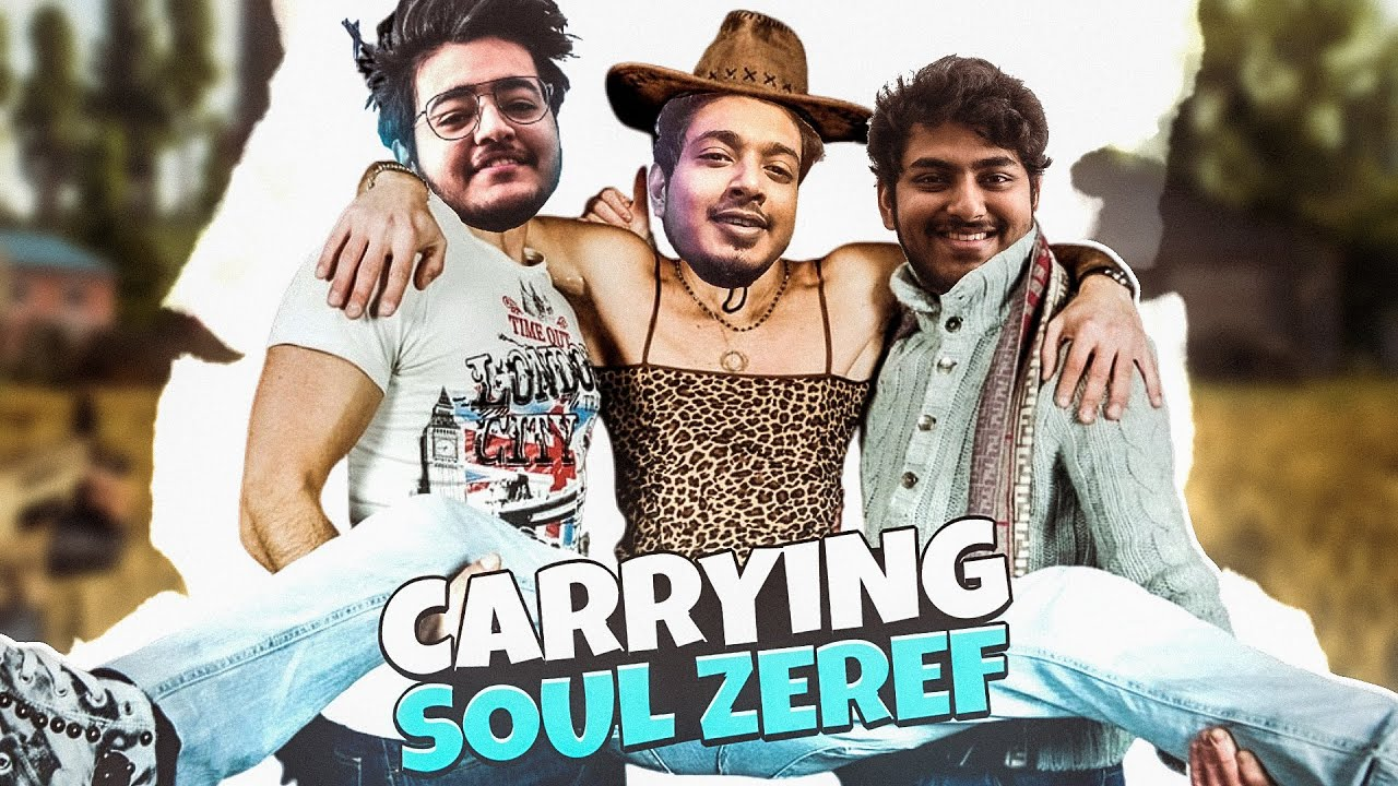 Roasting Soul Zererf   || Carrying Teammates in BGMI