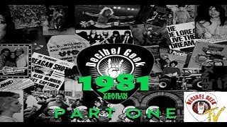 Decibel Geek Podcast: 1981 Year in Review Part 1