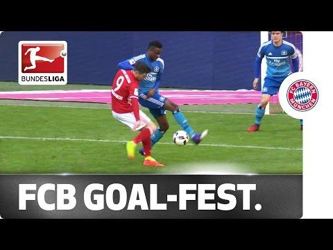 Bayern's 8-Goal Spectacle - Lewandowski Hat-Trick, Coman Brace and More