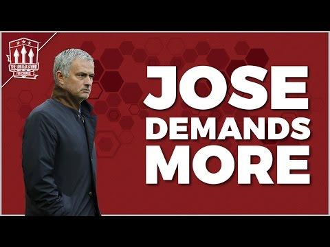 Mourinho Demands More From Man Utd Players