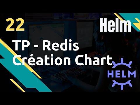TP - Chart Redis : création et déploiement  - #Helm 22