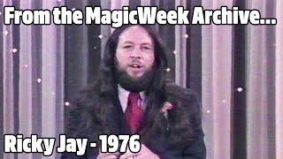Ricky Jay - Magician - Doug Henning's World of Magic - 1976 - MagicWeek.co.uk