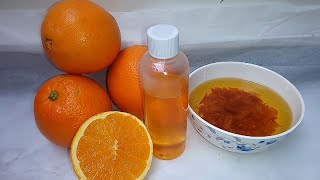 How To Make Orange Oil For Lightening And Glowing Skin