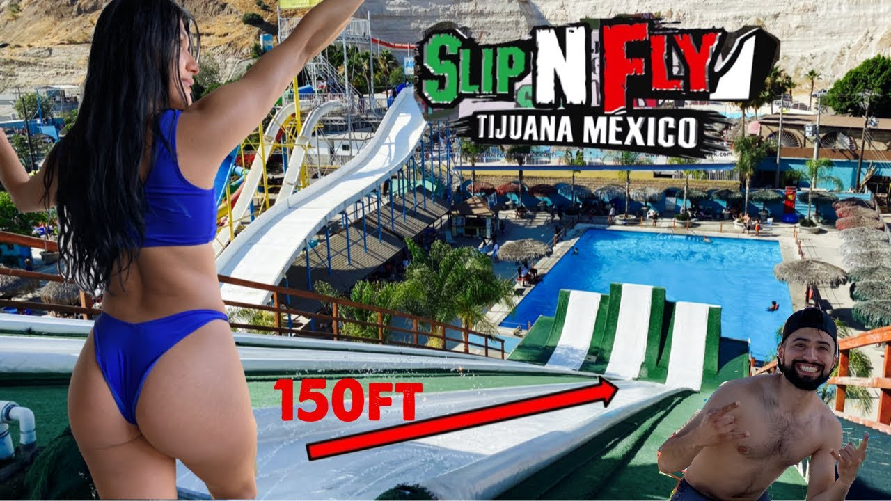 I WENT TO A WATERPARK IN MEXICO! *Epic*