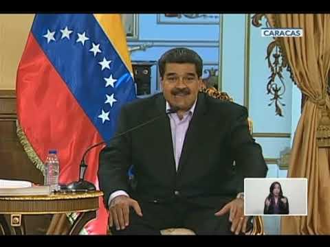 """Maduro: """"Trump, la sangre que pueda correr en Venezuela estará en sus manos"""""""
