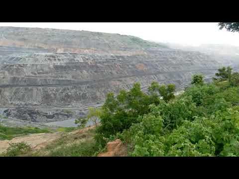 Opencast mining in manuguru