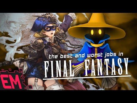 Best & Worst Final Fantasy Jobs! – Listcussion | Eligible Monster