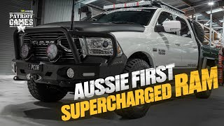 Building Australia's First Supercharged HEMI RAM 1500 • Patriot Games Season 3 • Episode 5