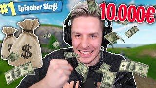 SO habe ich im FORTNITE PRO TURNIER 10.000$ gewonnen! Fall Skirmish bestOF!