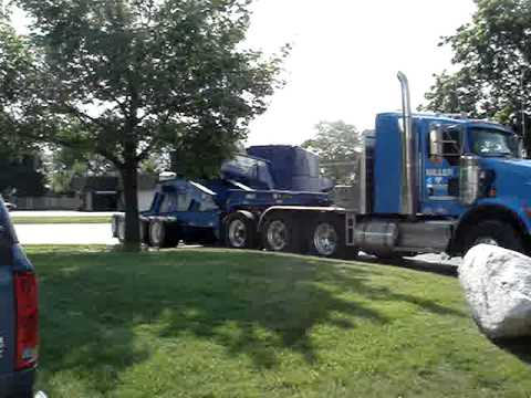 Corrigan Air & Sea Moving an Oversized Load