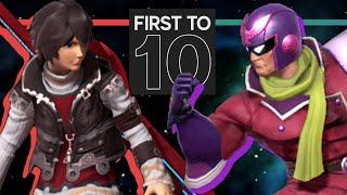 Nicko's Shulk VS. Fatality's Falcon - FIRST-TO-TEN