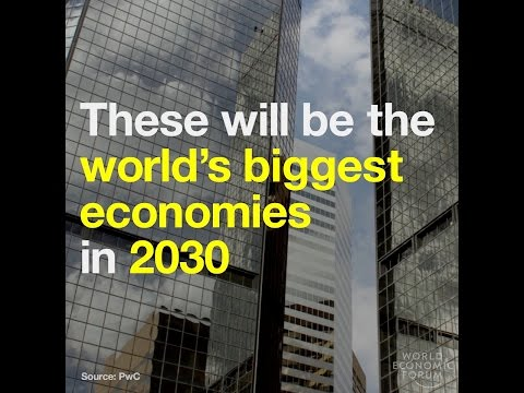 These will be the world's biggest economies in 2030