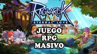 MMORPG Ragnarok M Eternal Love Para Iphone y Android Español
