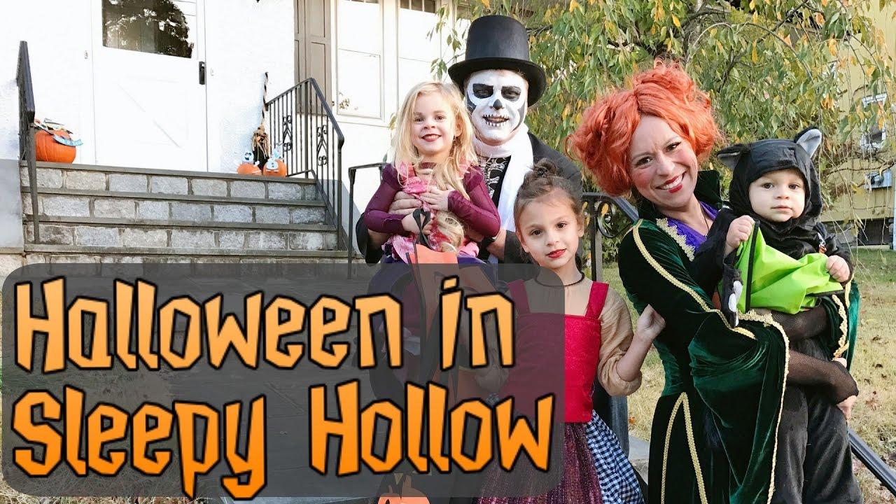 Halloween in Sleepy Hollow NY - YouTube