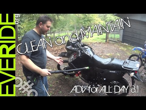 ADV for ALL - Day 8.1, Basic Off Road Motorcycle Maintenance, Cleaning, & Inspection Tips o#o