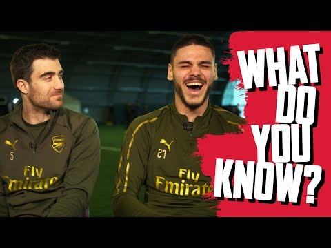 Is it America or is it the USA?! | Sokratis Papastathopoulos v Dinos Mavropanos | WHAT DO YOU KNOW?