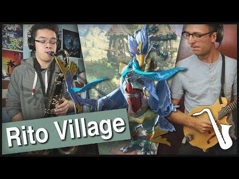 Zelda Breath Of The Wild: Rito Village Jazz Arrangement || Insaneintherainmusic (ft. Alex Heflin)