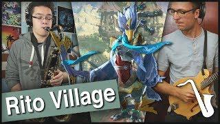 Zelda Breath Of The Wild: Rito Village Jazz Arrangement    Insaneintherainmusic (ft. Alex Heflin)