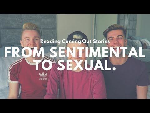 REACTING TO COMING OUT STORIES | SENTIMENTAL TO SEXUAL (w/ DAN&JON)